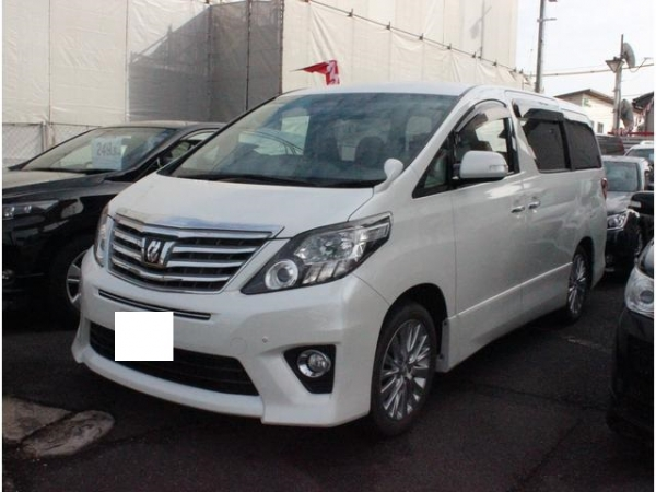 Toyota Alphard 240s Package 2014