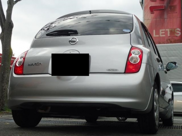 Nissan March  Nissan March 2008